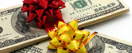 money-gift-bows